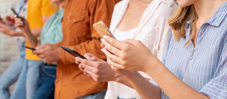 etude utilisation smartphones en france