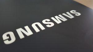 samsung logo telephone