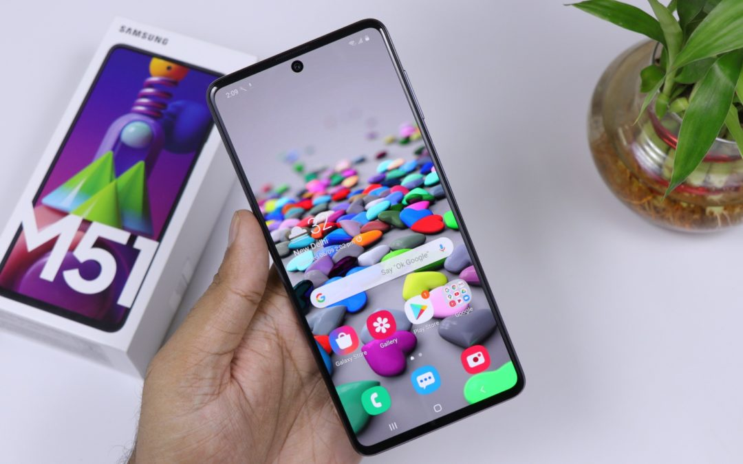 Samsung Galaxy M51 : un appareil Samsung à la durabilité incroyable !